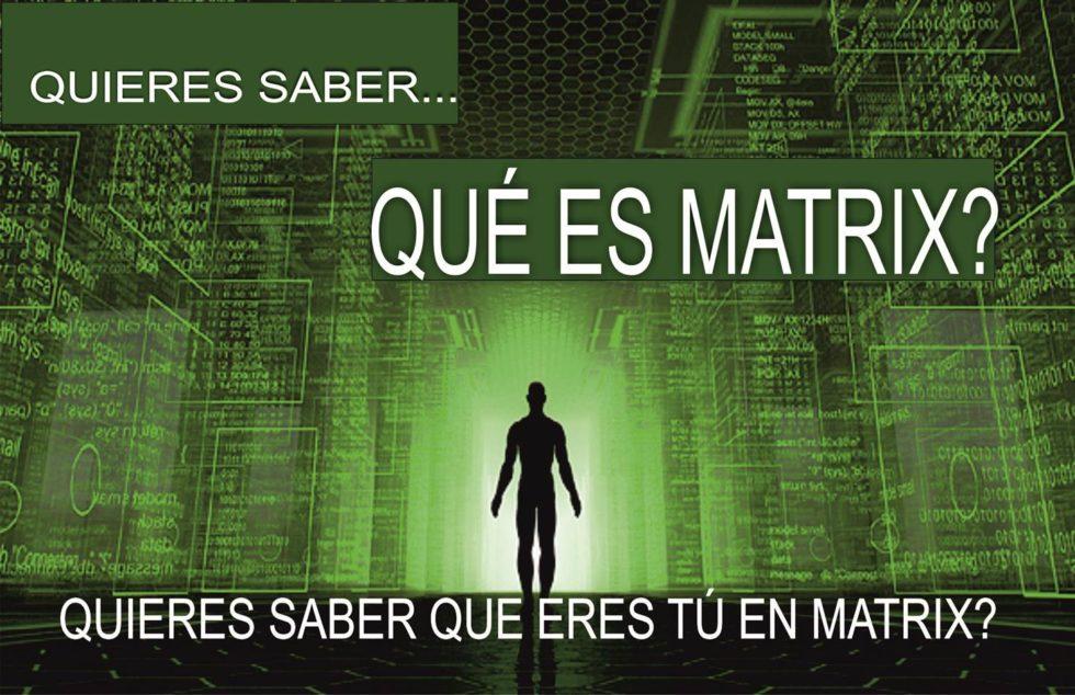 La matrix y el control
