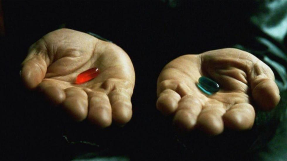 La matrix y las pastillas